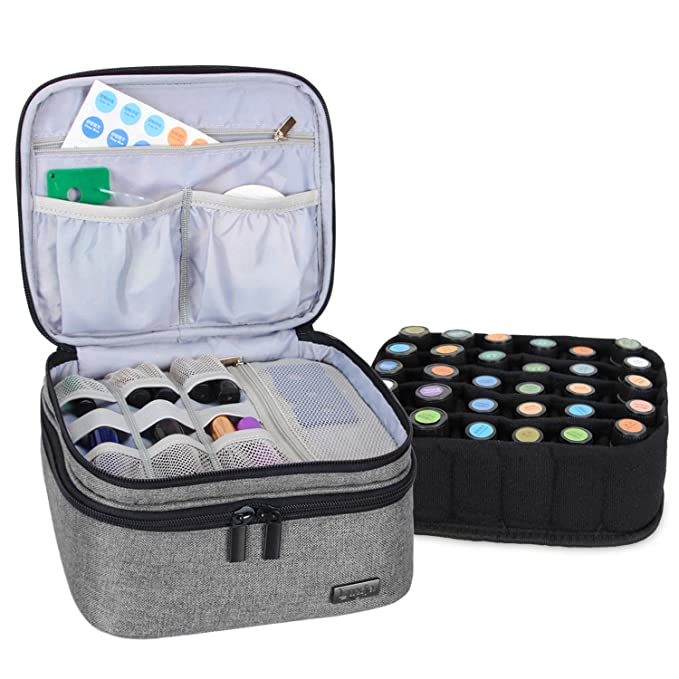 RedWhteBlue Essential Oil Carrying Case 30-Bottle 15-30ml 4 High Pattern