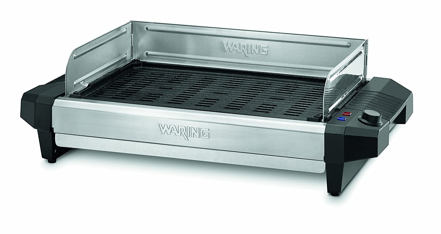 Amazon.com: Waring Pro CIG100 Professional 1800-Watt Cast-Iron ...
