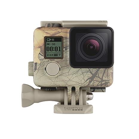 GoPro AHCSH-001 Carcasa camuflada + QuickClip (Realtree Xtra) Woodland Camouflage