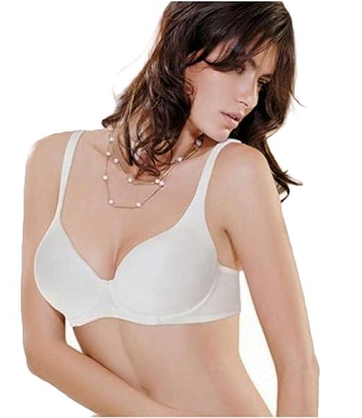 747a52e62189 LORMAR - Reggiseno Mousse Cotton Coppa C: Amazon.it: Abbigliamento