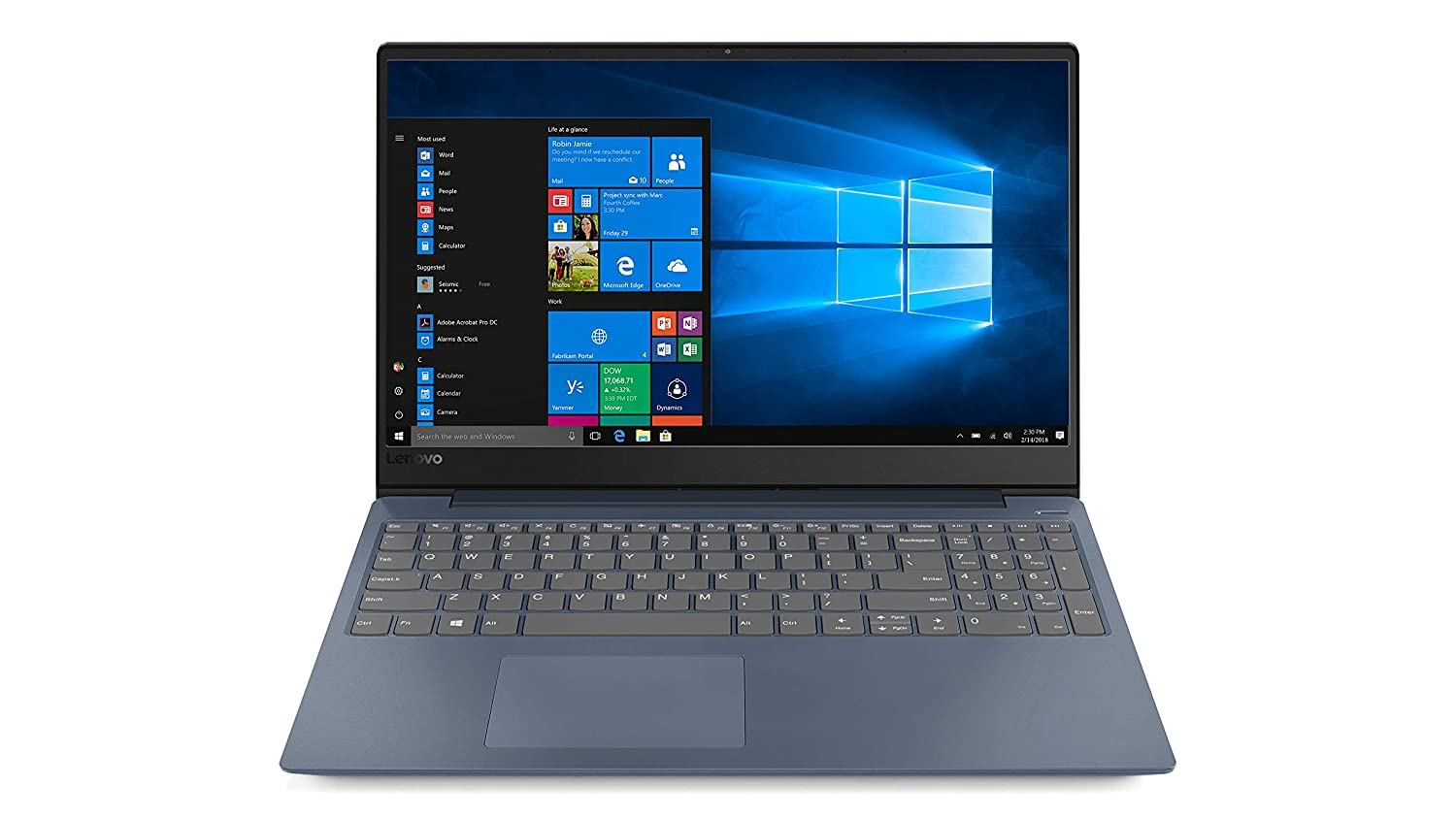 カウくる Lenovo IdeaPad Premium Home RAM, and Quad Business Laptop (Intel Gen 8th Gen i5-8250U Quad Core, 4GB RAM, 1TB Sata SSD, 15.6