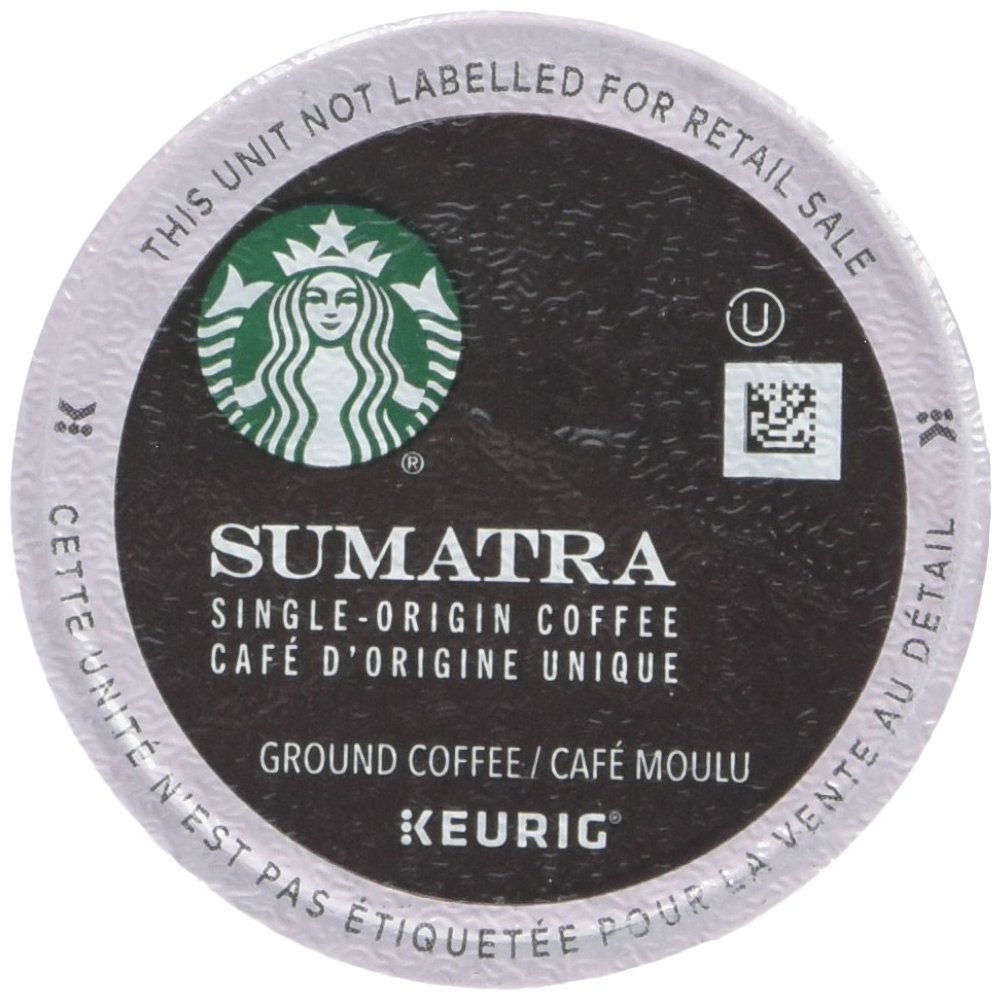 Starbucks Sumatra Coffee K-Cups 96 cups (4-pack) by Starbucks