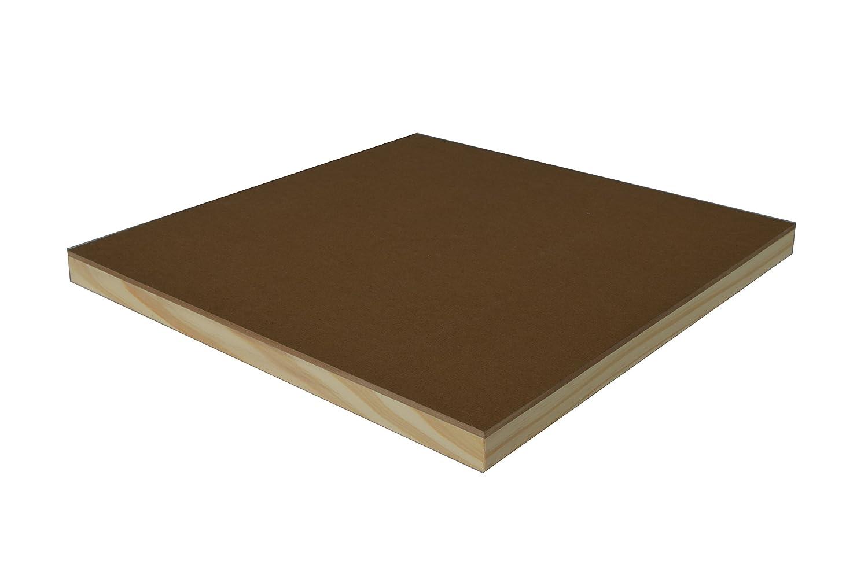 12-inch x 16-inch Board Art Advantage Canvas Panel Cradle Hardboard
