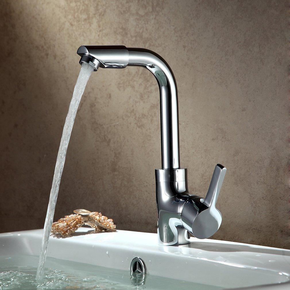 Auralum® 3/8 Zoll Küche Wasserhahn Küchenarmatur Waschtisch ...