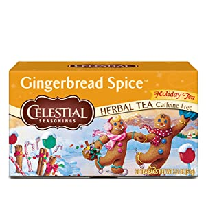 Celestial Seasonings Herbal Tea, Gingerbread Spice, 20 Count Box