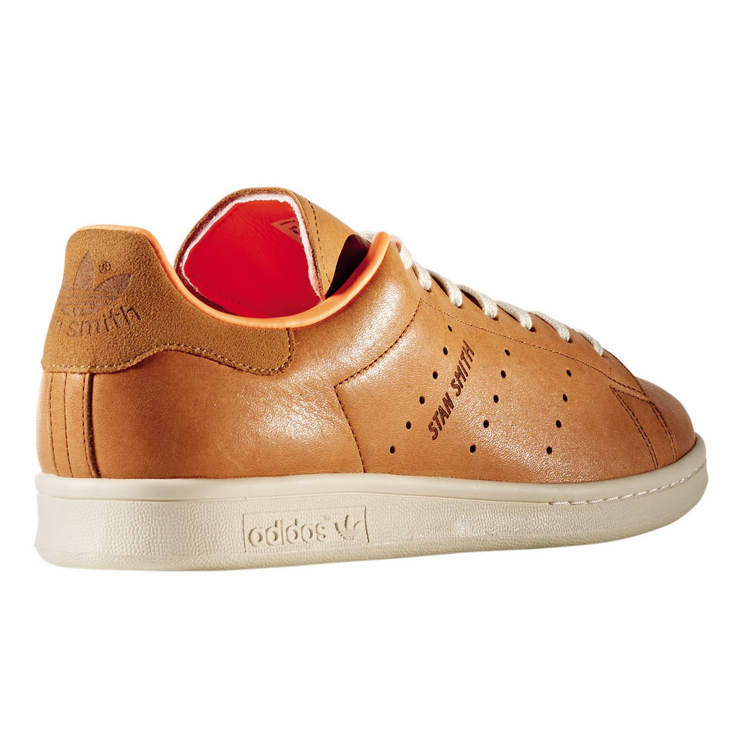 huge selection of 3346a 0a7c1 ... buy chaussures adidas stan smith brun orange blanc taille 39 1 3 c0bce  1d098
