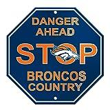Fremont Die NFL Denver Broncos Stop Sign