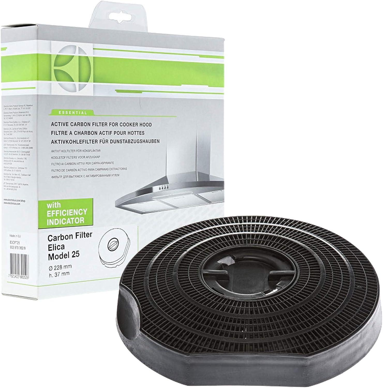 B&Q Cata DesignAir Cooke & Lewis Elica - Capucha de cocina, modelo 25, filtro de carbono: Amazon.es: Hogar
