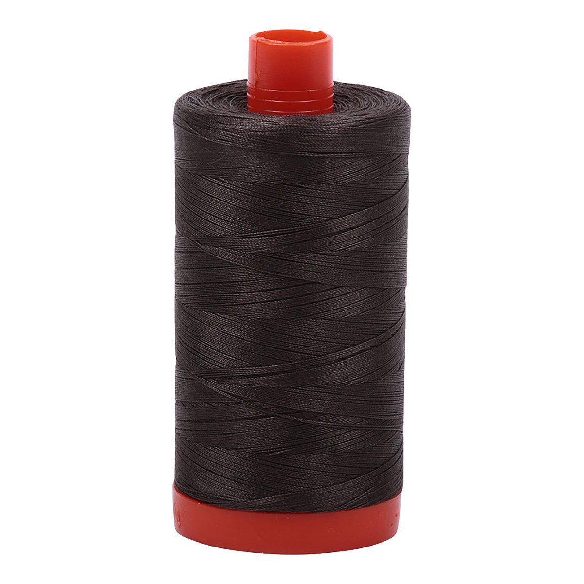 Aurifil A1050-5013 Solid 50wt 1422yds Asphalt Mako Cotton Thread Aurifil USA
