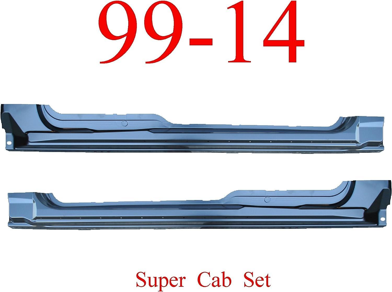 09-14 F150 Super Cab OEM Type Panel Extended Rocker Set