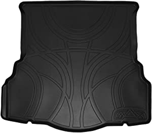 MAXLINER All Weather Cargo Liner Floor Mat Black for 2013-2018 Ford Fusion (No Hybrid Models)