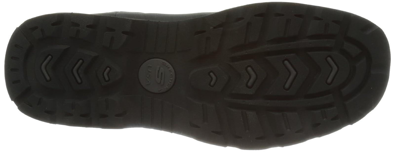 Skechers USA Men's Blaine Orsen Ankle Boot Dark Brown - 3