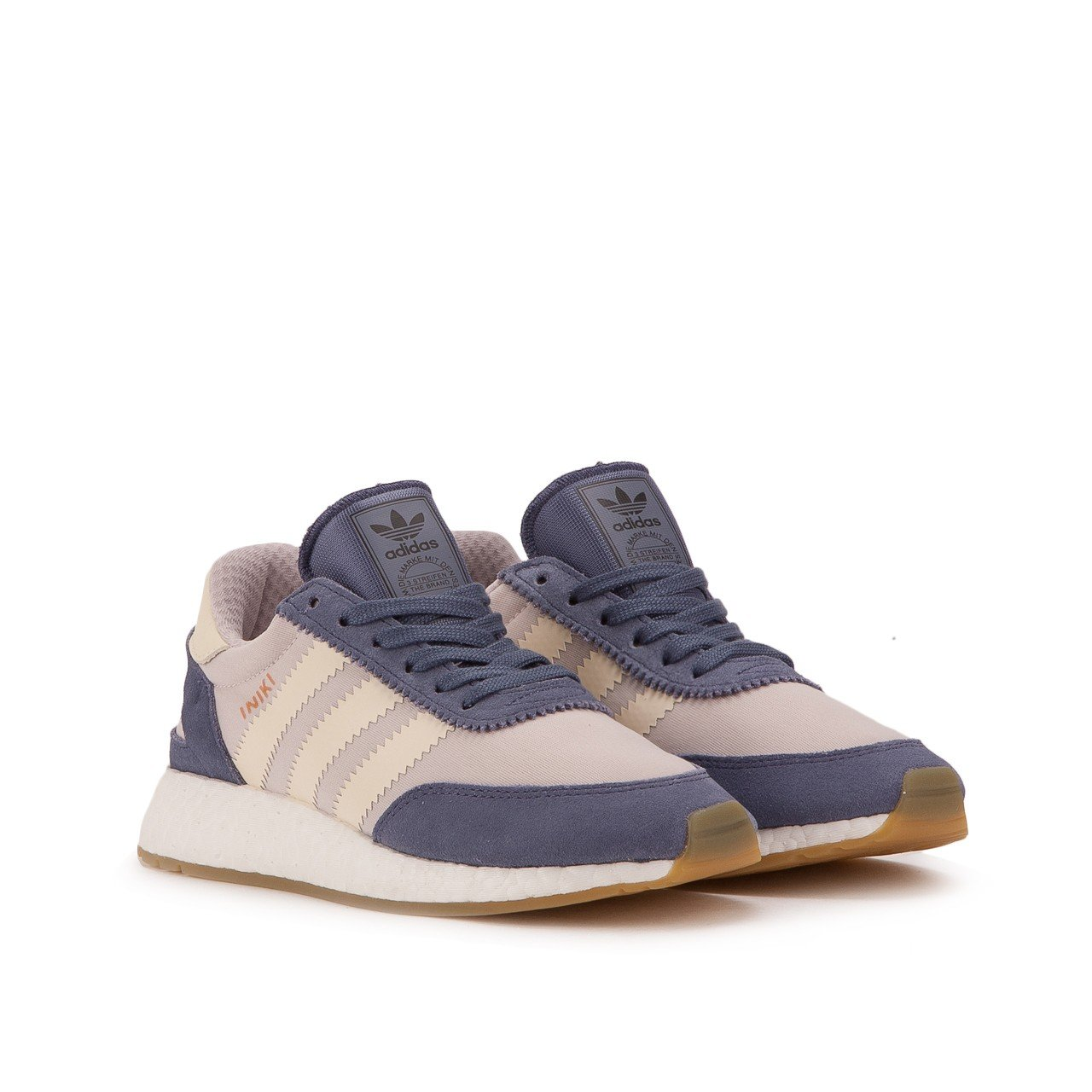 adidas Iniki Women's Off-White Sneakers B06XGMVD4R 9.5 B(M) US|Purple/White/Ice Purple