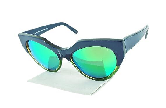 c04bb47c2a Amazon.com  Andy Wolf Joy Cat Eye Sunglasses Acetate Frames (Blue ...