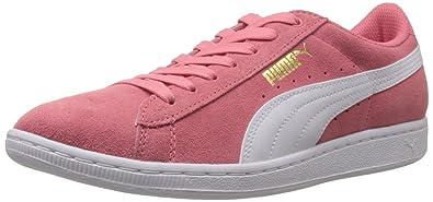 Puma Women's Puma Vikky Salmon Rose-White Leather Running Shoes - 11  UK/India