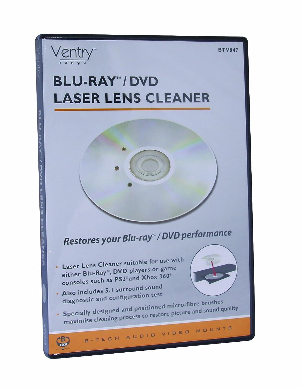 B-Tech BTV847 Ventry - Limpiador de reproductor de Blu-ray/DVD: Amazon.es: Electrónica