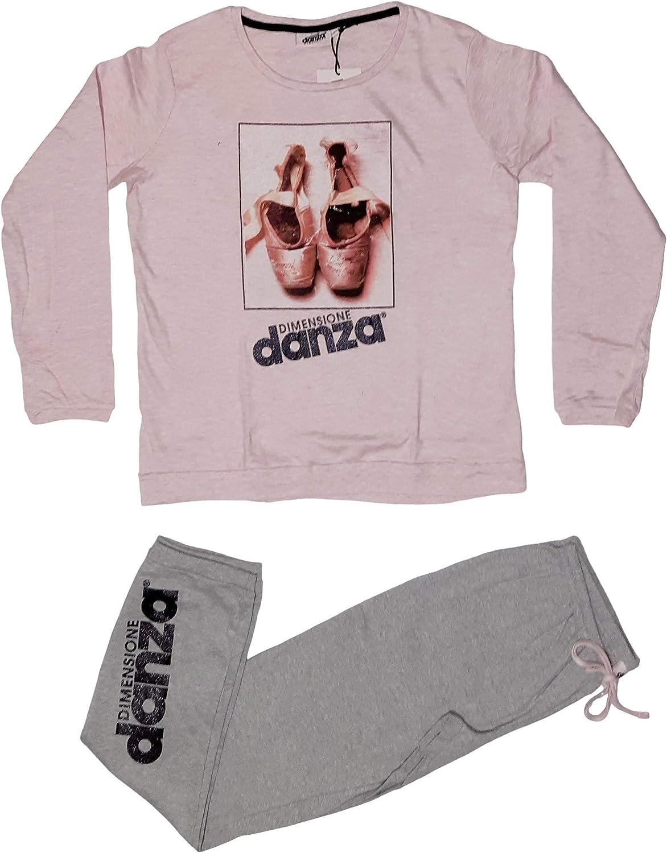 Dimensione Danza Pigiama Donna Fresco Cotone Art 20129