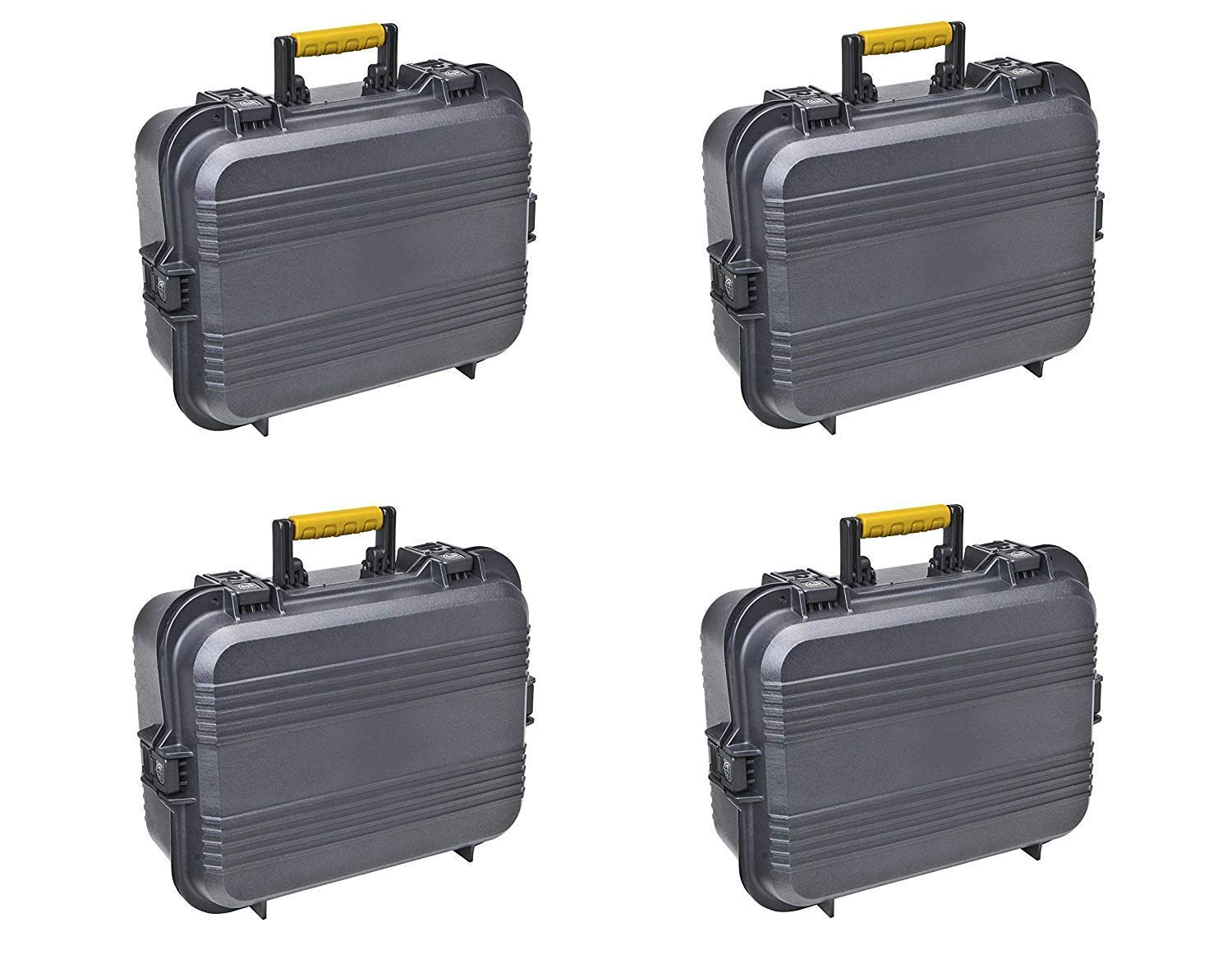 Plano 108031 AW XL Pistol/Accessories Case Black (Pack of 4) by Plano