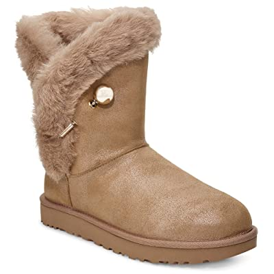 UGG Womens Classic Fluff Pin Boot | Boots
