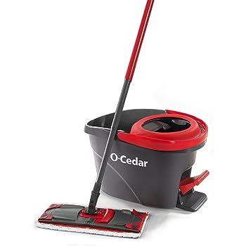 O-Cedar UltraMax EasyWring Microfiber Flat Spin Mop