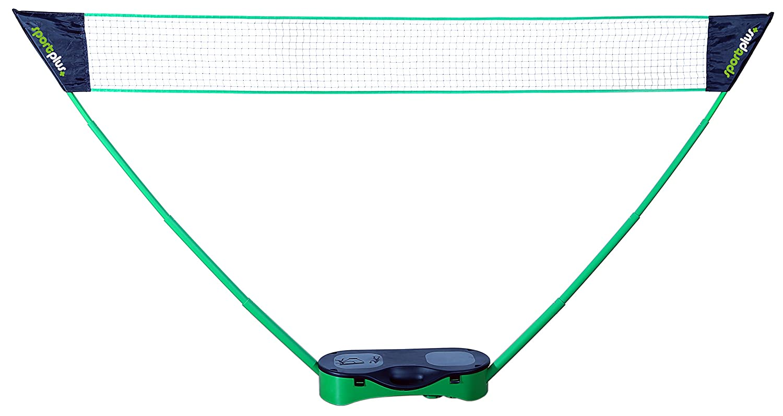Montage rapide Avec Malllette de transport ultra pratique SportPlus Différentes options disponibles 05 m jusqu/'à 2 45 m jusqu/'à SP-NET-031 Filet pour Badminton // Volley // Tennis