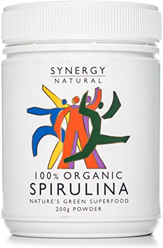 Synergy Natural Organic Spirulina Powder, 200g