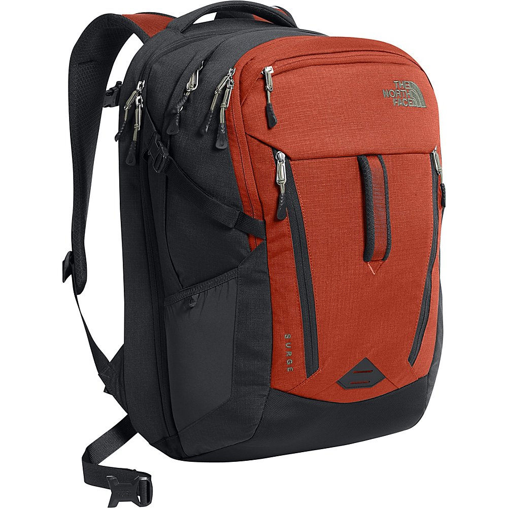 The North Face Surge Laptop Backpack - 15'' (Ketchup Red)