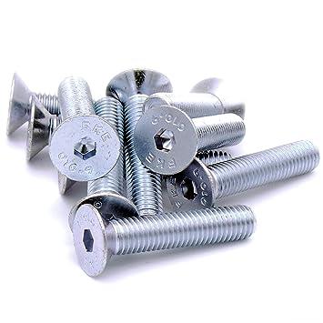 Senkkopfschraube Innensechskant-Schraube  Stahl verzinkt Senkkopf Schraube