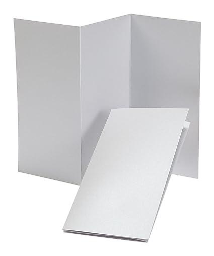 amazon com fine impressions tri fold program 4 x 8 folded