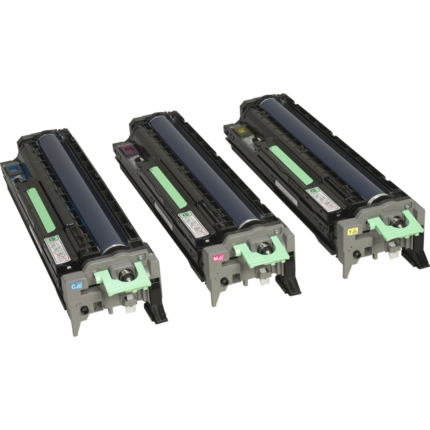 Ricoh Color Drum Unit Set, Includes 1 Each for C M Y, 60000 Yield (407096)