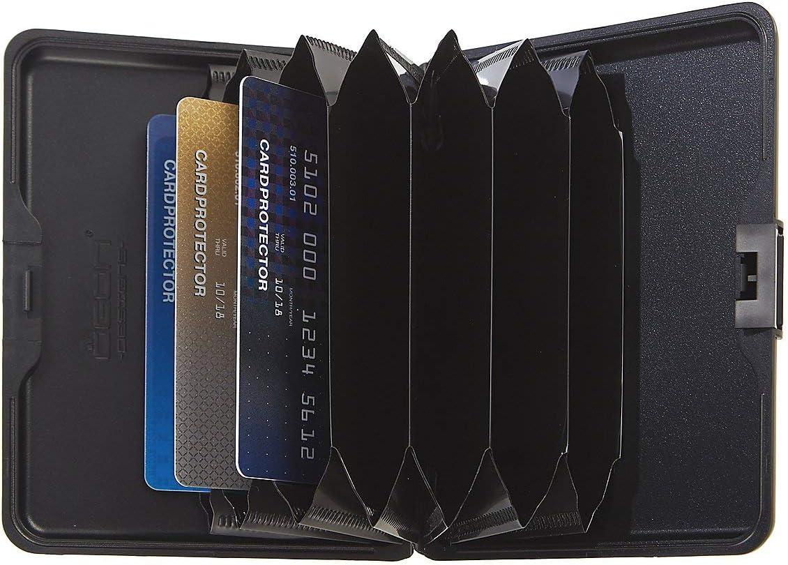 Ögon Stockholm ALLUMINIO CARTE ASTUCCIO PORTAFOGLIO Card Case per fino a 12 carte