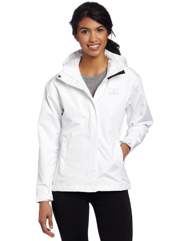 Helly Hansen Women's Seven J Jacket, White, Large 62066