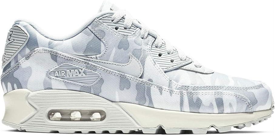 Pakistán Rubicundo Permanecer  Nike Air Max 90 CSE tenis con estampado de camuflaje, platino puro/Summit  blanco/gris lobo para mujer, 8.5 US, PURE PLATINUM/SUMMIT WHITE-WOLF GREY:  Amazon.es: Deportes y aire libre