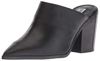 e8b4e6e4209 Steve Madden Women s Savina Mule Black Leather 6 ...