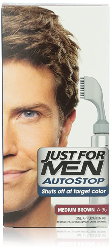 Buy Just For Men Autostop Hair Color Medium Brown Online At Low