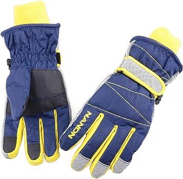 JEELAD Kids Ski Snow Gloves Toddler Winter Gloves Windproof Snowboard Gloves for Boys Girls