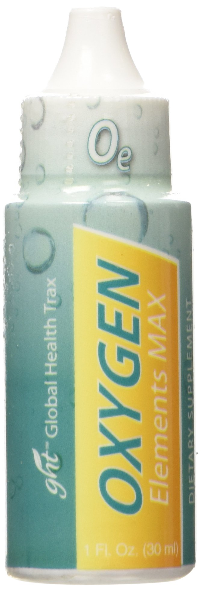 GHT Oxygen Elements Max Dietary Supplement, 1-Ounce Bottle