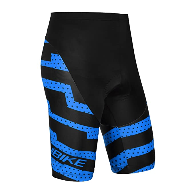 17a23a93f INBIKE Men Cycling Shorts Padded Bicycling Pants Specialized Bike Shorts  Blue