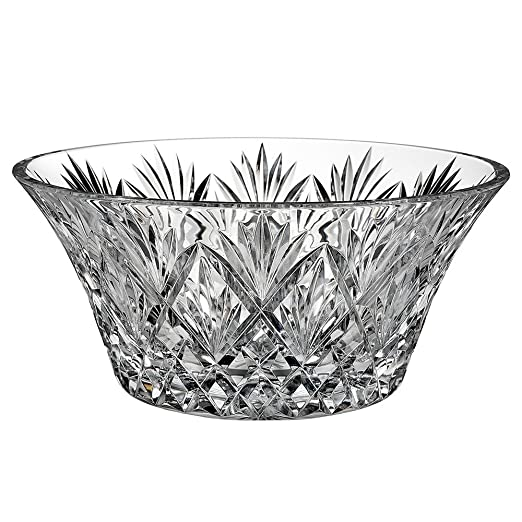 Waterford Cassidy Pattern Cut Crystal 10-inch Bowl