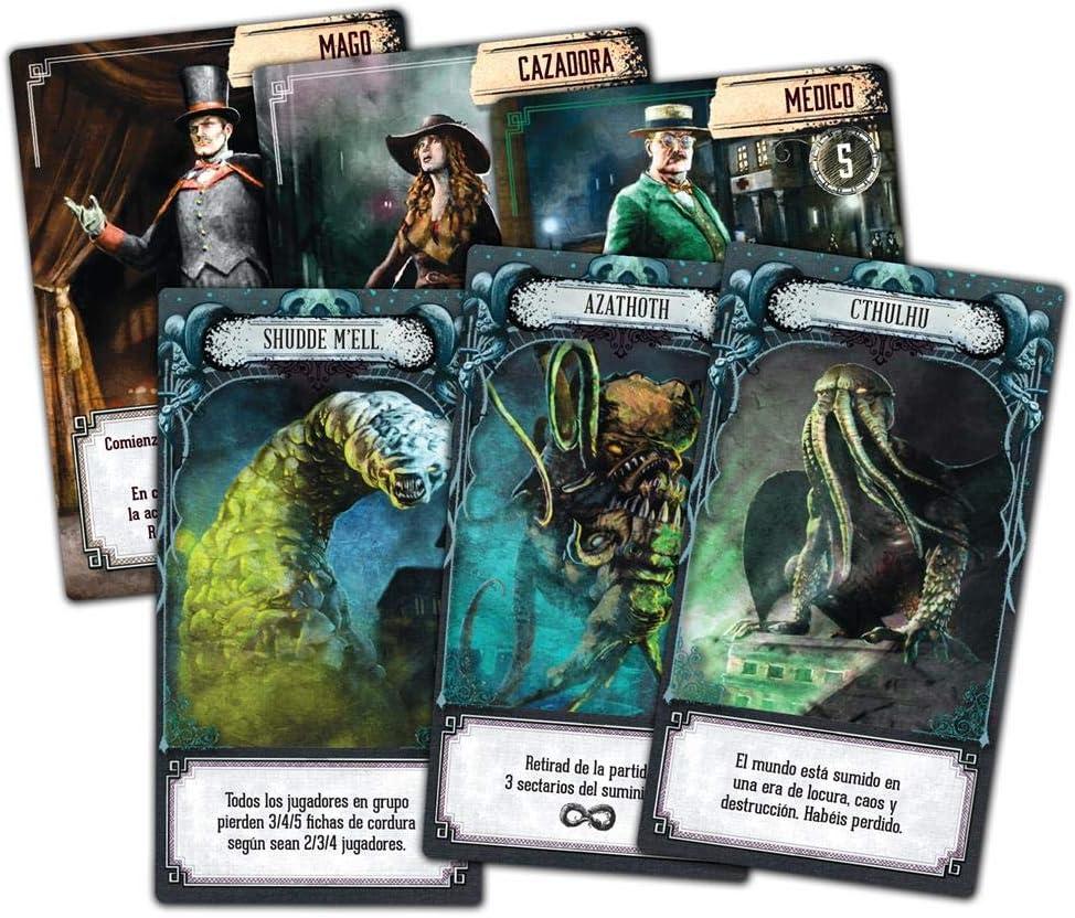 Z-Man Games- Pandemic El Reino de Cthulhu, Color (ZM7114ES): Amazon.es: Juguetes y juegos