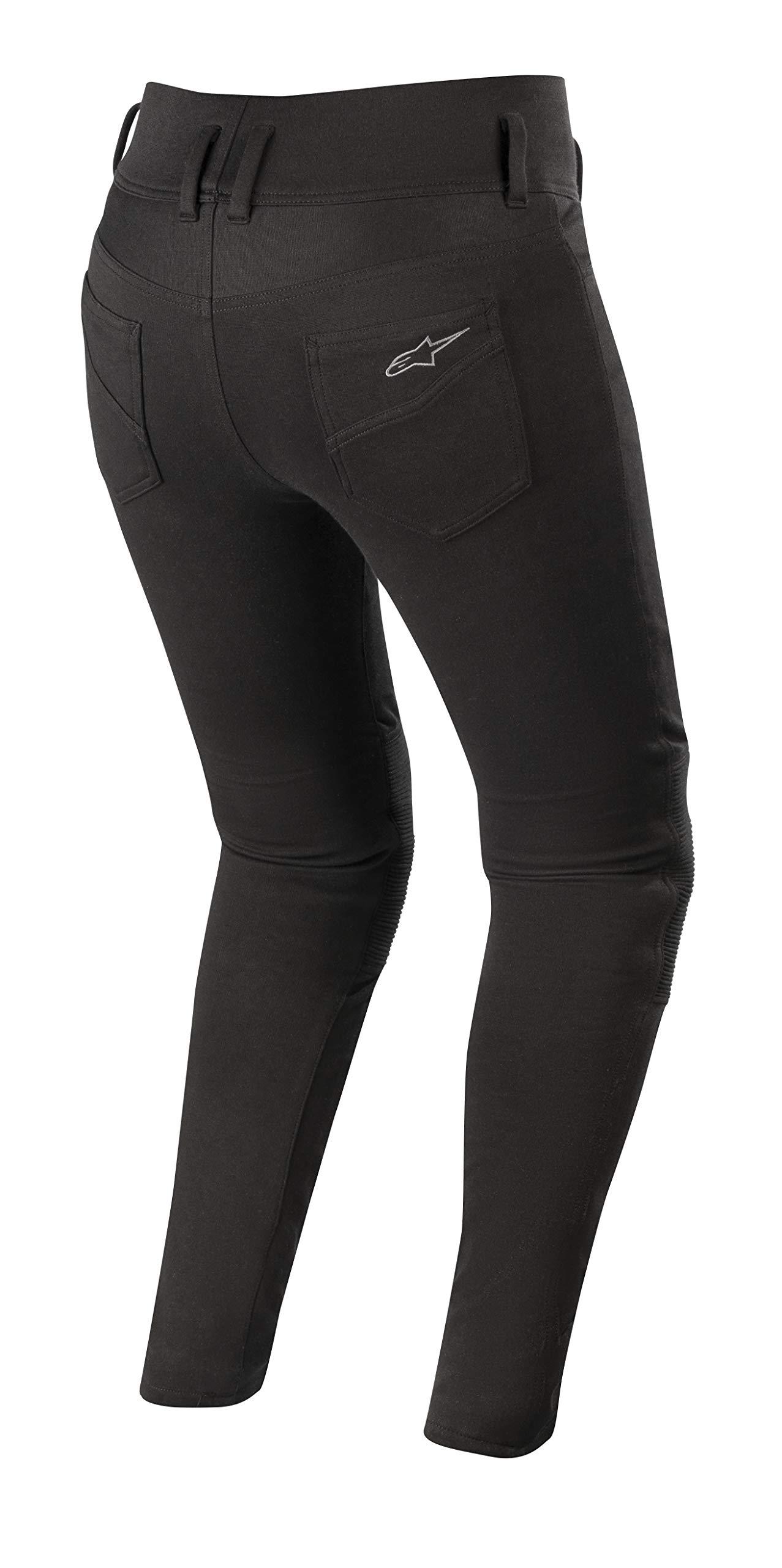 Banshee Women's Protective Motorcycle Leggings (Medium, Black) by Alpinestars (Image #2)