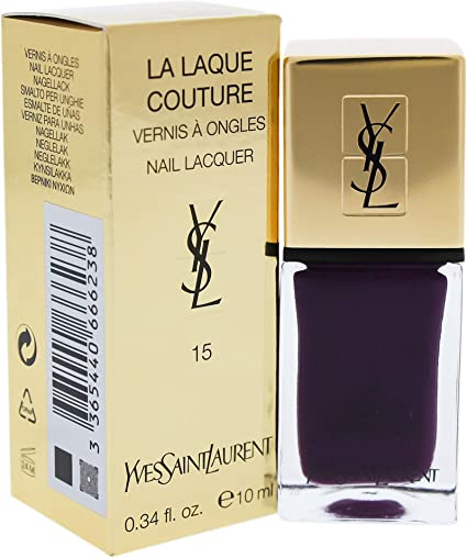 Yves Saint Laurent - Esmalte La Laque Couture 15: Amazon.es: Belleza