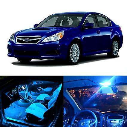 cciyu paquete kit para Subaru Legacy 2010 - 2017 hielo azul ...