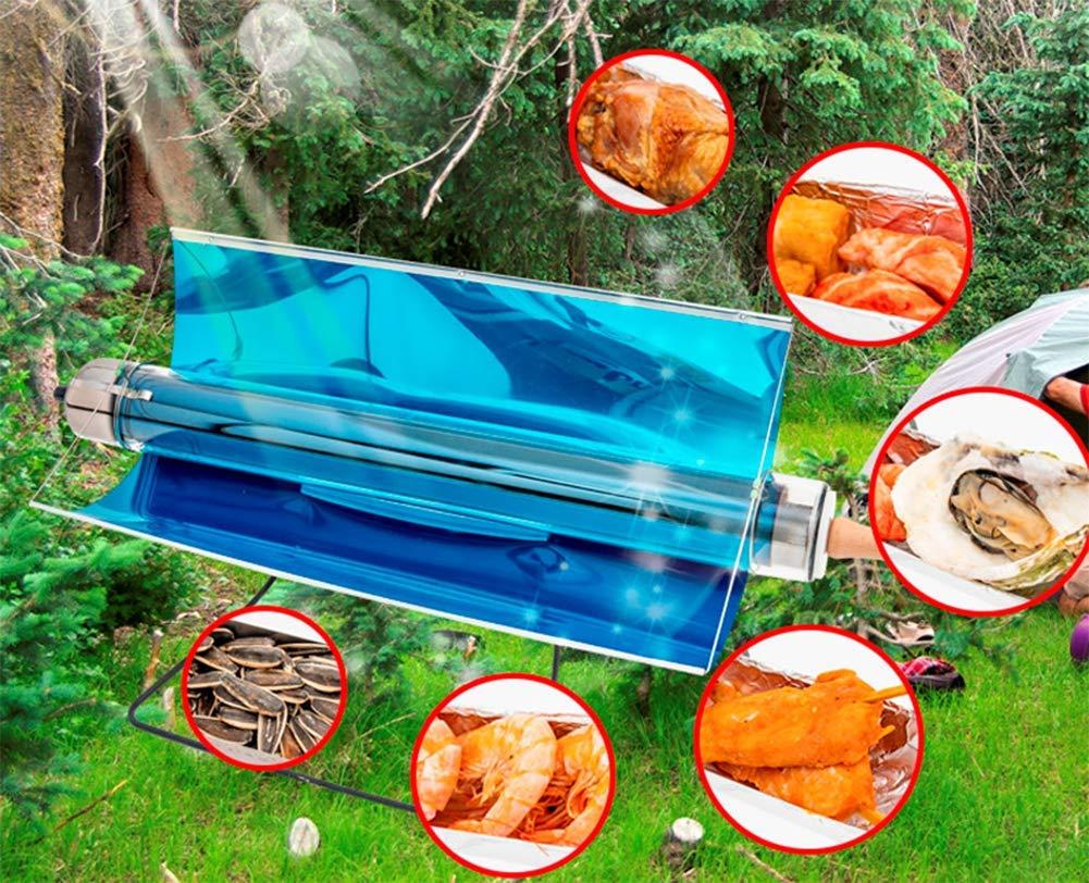 OOBY Parrilla Solar Portátil Parrilla Sin Combustible ...