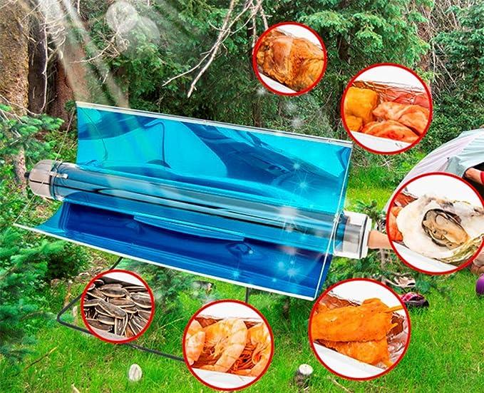 OOBY Parrilla Solar Portátil Parrilla Sin Combustible Parrilla Sin Humo, Plegable, Deliciosa para Viajes Al Aire Libre.: Amazon.es: Deportes y aire libre