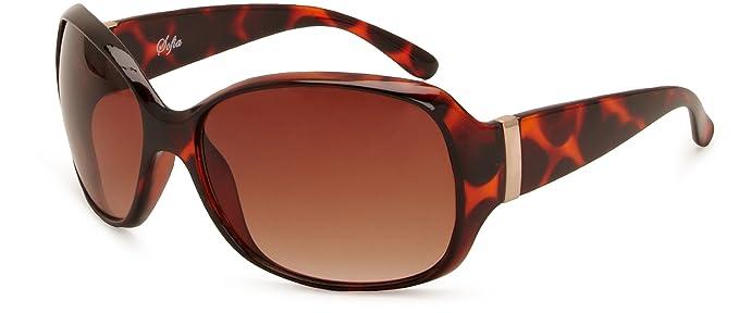 d53b8797c63c M :UK MUK137814 Rectangle Women's Sunglasses: Amazon.co.uk: Clothing
