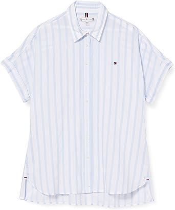 Tommy Hilfiger Rayla Shirt SS Camisa para Mujer: Amazon.es: Ropa y accesorios