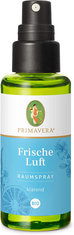 Primavera Raumspray Frische Luft Bio 50 Ml Pfefferminze Zitrone Und Myrte Aromadiffuser Aromatherapie Klärend Vegan Drogerie Körperpflege