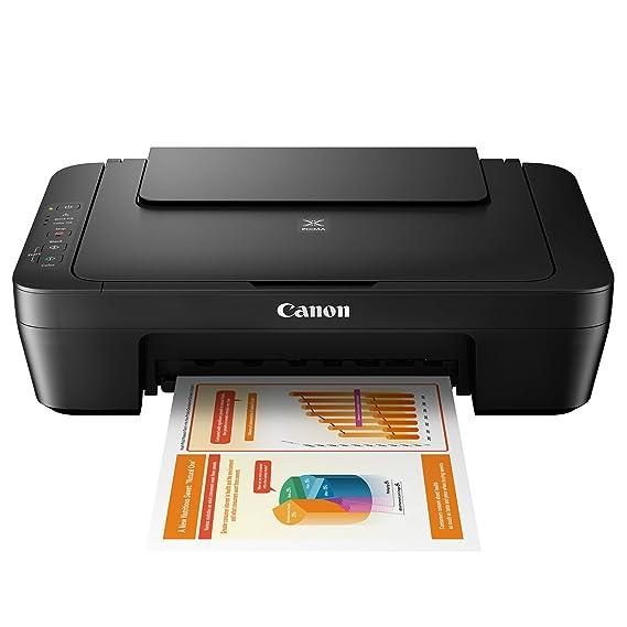 Impresora Multifuncional Canon PIXMA MG2550S Negra de inyección de tinta