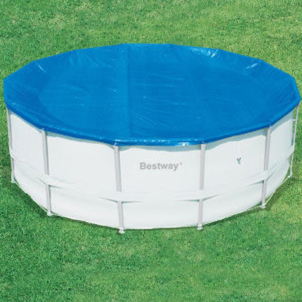 Bestway Steel Pro Frame Pool Set - Grey, 18 Ft (26,000L): Amazon.co ...